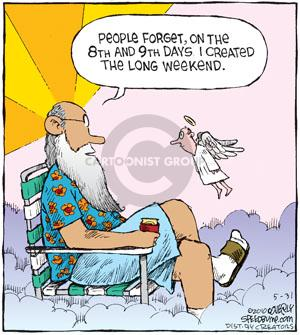 Comic Strip Dave Coverly  Speed Bump 2010-05-31 weekend