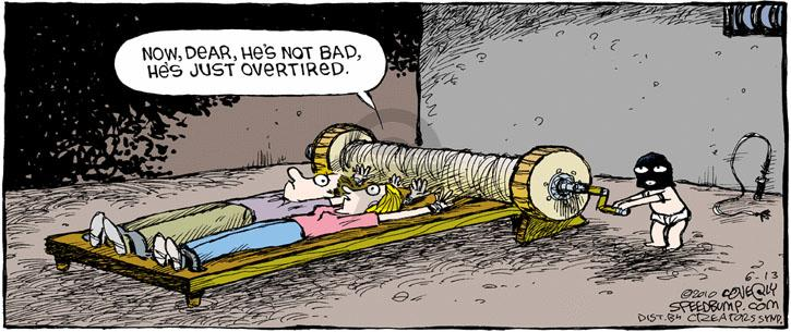 Comic Strip Dave Coverly  Speed Bump 2010-06-13 child behavior