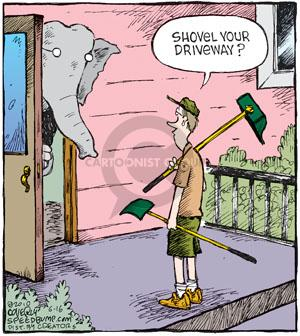 Comic Strip Dave Coverly  Speed Bump 2010-06-16 poop