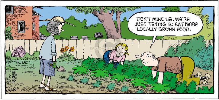 Comic Strip Dave Coverly  Speed Bump 2010-06-27 gardening