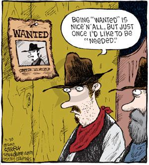 Comic Strip Dave Coverly  Speed Bump 2010-07-30 old west
