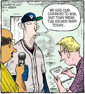 Comic Strip Dave Coverly  Speed Bump 2010-08-12 baseball
