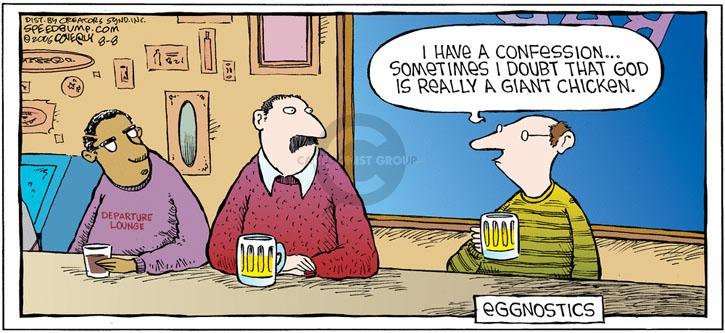 Comic Strip Dave Coverly  Speed Bump 2010-08-08 belief