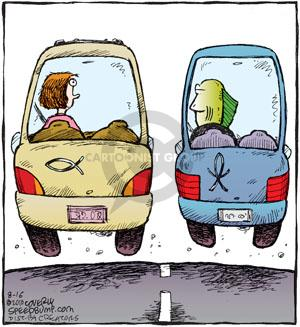 Comic Strip Dave Coverly  Speed Bump 2010-08-16 shape