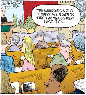 Comic Strip Dave Coverly  Speed Bump 2010-08-21 substitute teacher