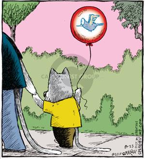 Comic Strip Dave Coverly  Speed Bump 2010-08-23 cat toy