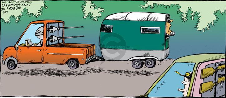 Comic Strip Dave Coverly  Speed Bump 2010-09-19 gun ownership