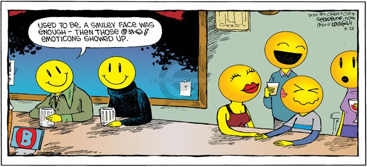 Comic Strip Dave Coverly  Speed Bump 2010-09-26 online