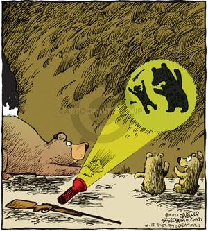 Comic Strip Dave Coverly  Speed Bump 2010-10-12 cave