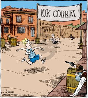 Comic Strip Dave Coverly  Speed Bump 2010-10-18 shooting