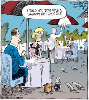 Comic Strip Dave Coverly  Speed Bump 2010-10-26 pigeon