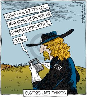 Comic Strip Dave Coverly  Speed Bump 2010-10-29 online