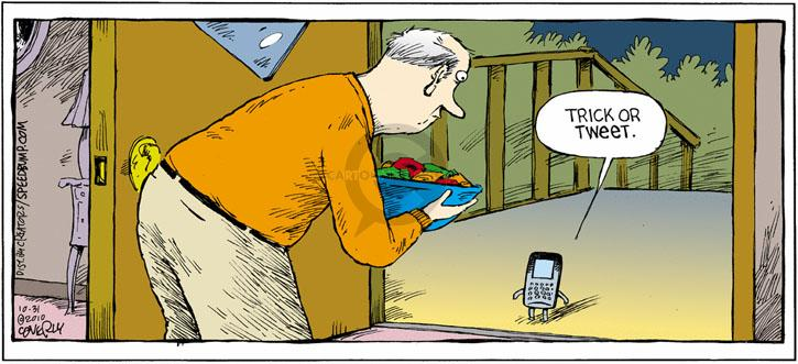 Comic Strip Dave Coverly  Speed Bump 2010-10-31 online