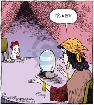 Comic Strip Dave Coverly  Speed Bump 2010-11-16 fortune teller