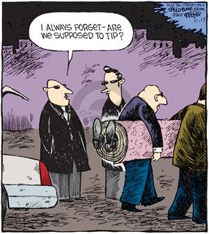 Comic Strip Dave Coverly  Speed Bump 2010-11-17 homicide