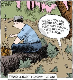 Comic Strip Dave Coverly  Speed Bump 2010-12-04 forest