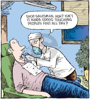 Cartoonist Dave Coverly  Speed Bump 2010-12-16 mouth