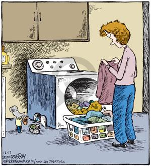 Cartoonist Dave Coverly  Speed Bump 2010-12-17 laundry