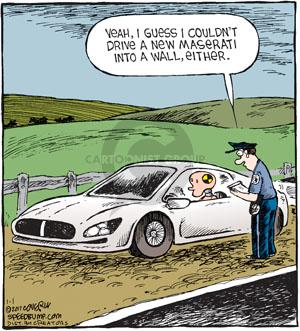 Comic Strip Dave Coverly  Speed Bump 2011-01-01 vehicle safety
