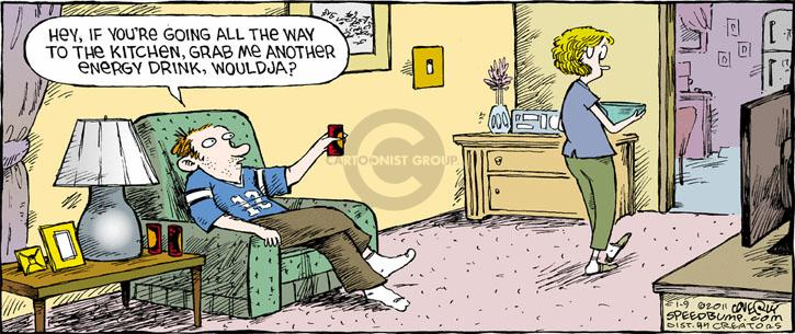 Comic Strip Dave Coverly  Speed Bump 2011-01-09 energy