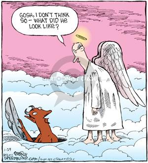 Comic Strip Dave Coverly  Speed Bump 2011-01-29 belief
