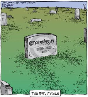 Comic Strip Dave Coverly  Speed Bump 2011-02-21 grave