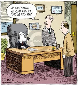 Cartoonist Dave Coverly  Speed Bump 2011-02-24 skill