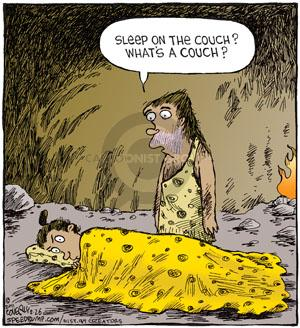 Comic Strip Dave Coverly  Speed Bump 2011-02-26 argument