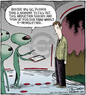 Comic Strip Dave Coverly  Speed Bump 2011-03-04 sign up