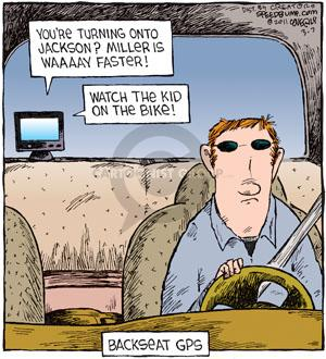 Comic Strip Dave Coverly  Speed Bump 2011-03-07 backseat driver