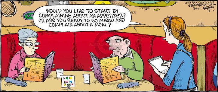 Comic Strip Dave Coverly  Speed Bump 2011-03-06 complain