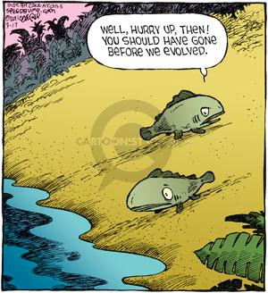 Comic Strip Dave Coverly  Speed Bump 2011-03-17 fish