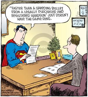 Comic Strip Dave Coverly  Speed Bump 2011-03-19 Superman