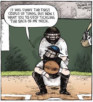 Comic Strip Dave Coverly  Speed Bump 2011-03-30 baseball