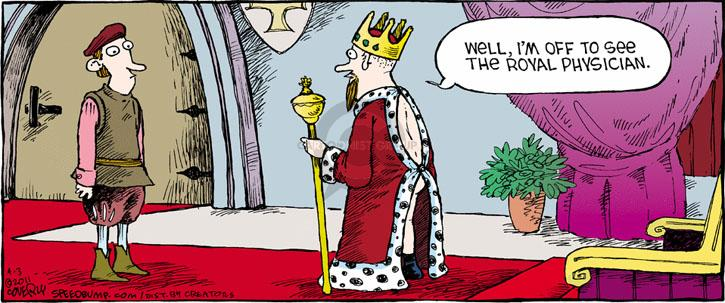 Comic Strip Dave Coverly  Speed Bump 2011-04-03 butt