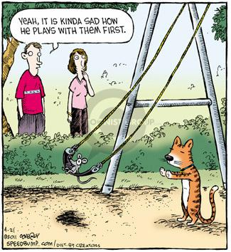 Comic Strip Dave Coverly  Speed Bump 2011-04-21 animal