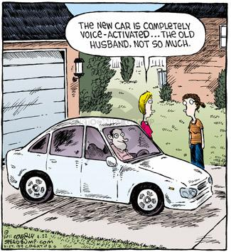 Comic Strip Dave Coverly  Speed Bump 2011-04-22 voice recognition