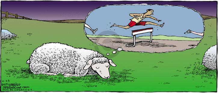 Comic Strip Dave Coverly  Speed Bump 2011-04-24 athletics