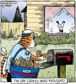 Comic Strip Dave Coverly  Speed Bump 2011-05-02 animal