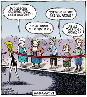 Comic Strip Dave Coverly  Speed Bump 2011-05-18 celebrity