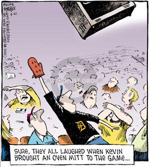 Comic Strip Dave Coverly  Speed Bump 2011-05-21 catch baseball