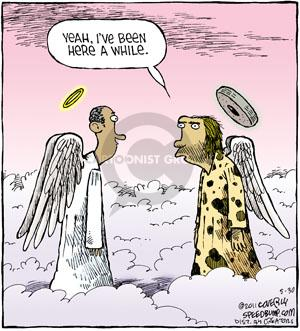 Comic Strip Dave Coverly  Speed Bump 2011-05-30 while