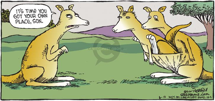 Comic Strip Dave Coverly  Speed Bump 2011-06-12 get