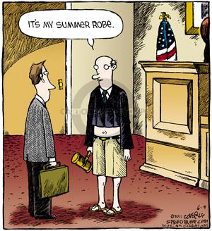 Cartoonist Dave Coverly  Speed Bump 2011-06-09 justice