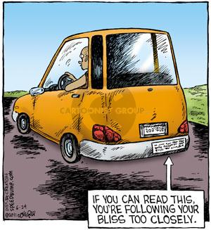 Comic Strip Dave Coverly  Speed Bump 2011-06-24 lifestyle
