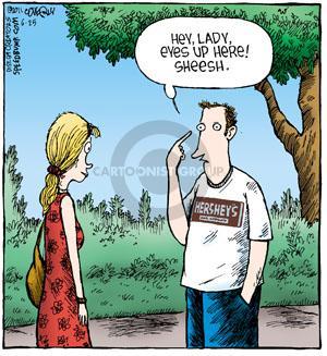 Cartoonist Dave Coverly  Speed Bump 2011-06-25 t-shirt