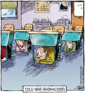 Comic Strip Dave Coverly  Speed Bump 2011-07-04 weapon