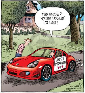 Comic Strip Dave Coverly  Speed Bump 2011-07-13 traditional marriage