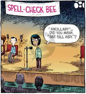 Comic Strip Dave Coverly  Speed Bump 2011-07-16 bee