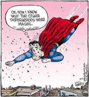 Comic Strip Dave Coverly  Speed Bump 2011-08-09 Superman